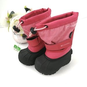 Columbia Pink Winter w/ Insulation Toddler Boots